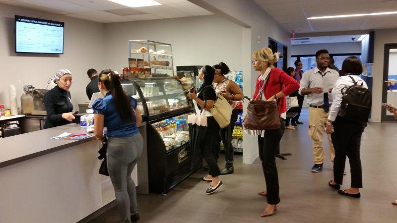 plaza college opens caf u00e9