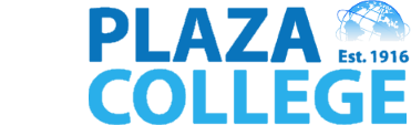 Plaza College logo